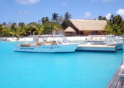 Topdive dive center in Bora Bora