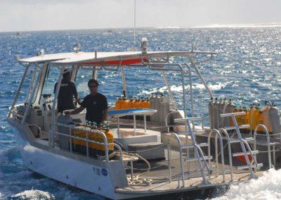 Nitrox scuba diving in Bora bora with TOPDIVE