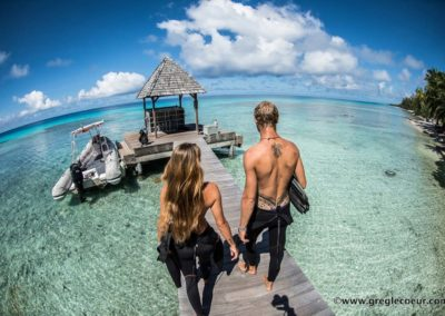 Blue Honeymoon dive in Polinesia with Topdive © greglecoeur