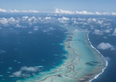 Tikehau airplane view -  Topdive