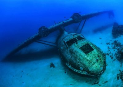 Plane wreck in Tahiti-TOBIAS FRIEDRICH