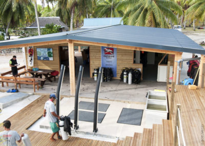 Rangiroa's Topdive scuba center