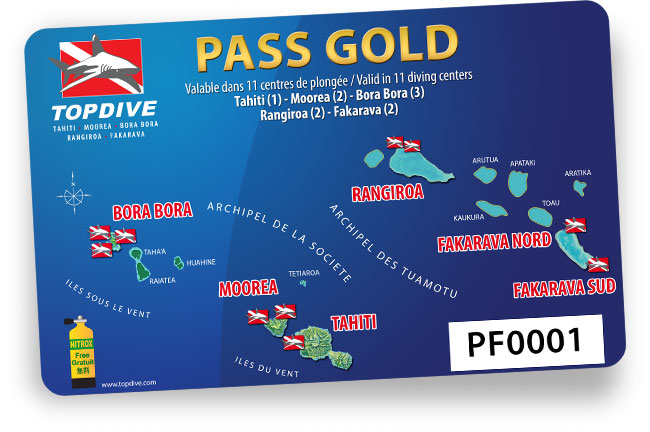 Pass Gold - Topdive