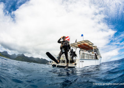 Scuba diving certification with Topdive Polynesia
