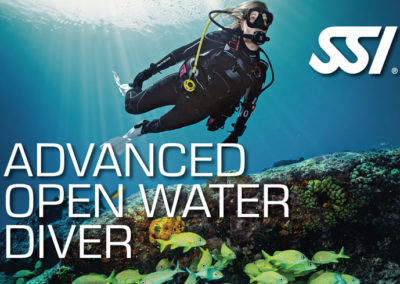 Advanced Open Water Diver SSI certification with Topdive Polynesia